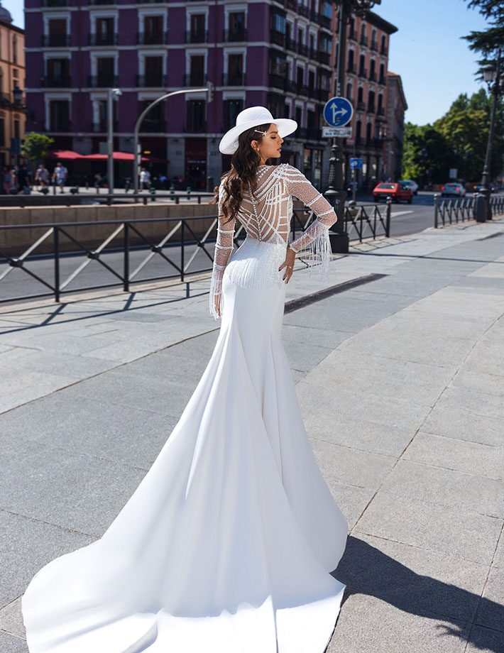 Sublime mermaid wedding dress
